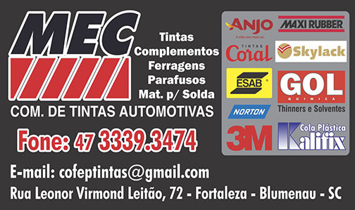 Tintas Automotivas MEC